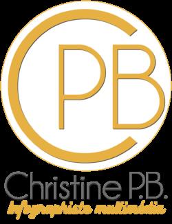 Logo Christine PB infographiste multimédia