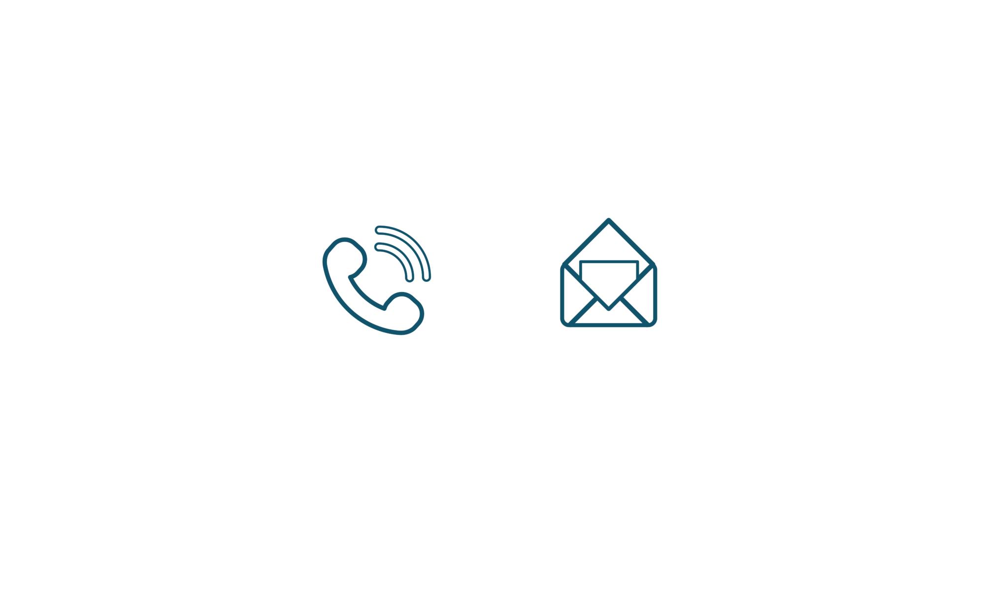 Contact par telephone mail